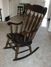 on photos below to enlarge vintage wooden rocking chairs old fashioned wood lot extra large chair
