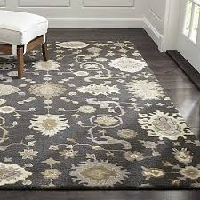 crate barrel persian juno rug 100 wool handmade wool area rugs carpet