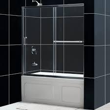 infinity plus sliding tub door