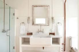 bathroom farm sink. Farmhouse Sink Bathroom Vanity Cottage With Farm Decor H