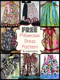 Free Pillowcase Pattern Amazing Pillowcase Dresses Inspirations And Patterns