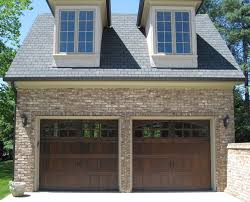 dark brown garage doorsExterior Comely Idea For Home Exterior Decoration Using Cherry