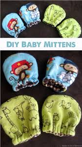 diy baby gifts diy baby mittens homemade baby shower presents and creative
