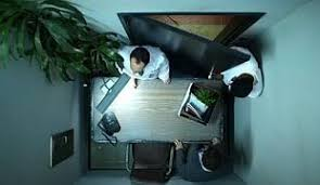 tiny office. ridiculously tiny office as punishment in better off ted i just like to smile smilingu0027s my favorite pinterest