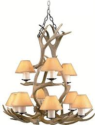 3 tier tangled antlers ii chandelier