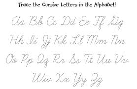 Cursive Handwriting Worksheets Tracing Worksheets for all ...