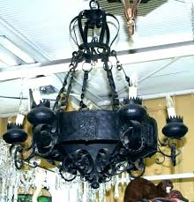 spanish style chandeliers wrought iron chandeliers cabana bluffs hallway s chandeliers wrought