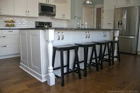 how to install kitchen counters image of standard overhang