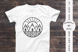✓ free for commercial use ✓ high quality images. Mountain Svg Landscape Silhouette Camping Shirt Svg 732421 Illustrations Design Bundles