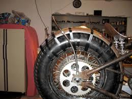 custom rear fender struts custom built motorcycles garage
