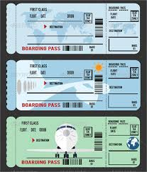 Microsoft Word Ticket Templates Plane Ticket Template Microsoft Word Anekanta Info