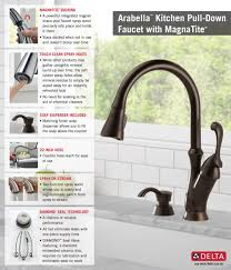 Home Depot Delta Faucet Pull Down With Soap Dispenser Kitchen
