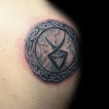 80 Kamenné Tetování Vzory Pro Muže Vyřezávané Inkoustové Nápady Rock