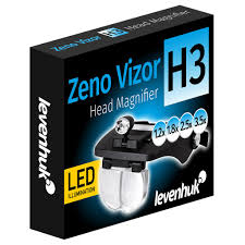 <b>Лупа налобная Levenhuk</b> Zeno Vizor H3 купить в интернет ...