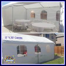 Fiesta Village Party Rentals 12 X 20 Canopy