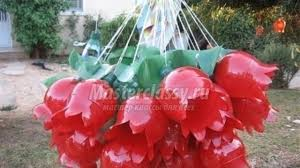 Decoration With Plastic Bottles THE DECORATION OF GARDEN AND KITCHEN GARDEN From a plastic bottle 36
