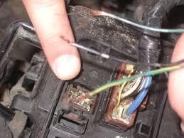 honda cr v 2005 ka se 5at wiring problem under hood fuse reley attached images