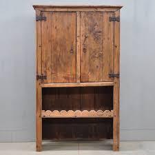 antique rustic spanish cupboard1