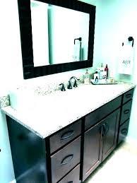 bathroom vanity installation cost