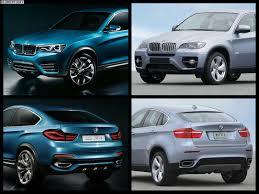 Photo Comparison: BMW X4 vs BMW X6