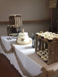 Small Rustic Wedding Cake With Cupcakes Wedding Cake From