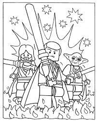 Kids ~ Lego Star Wars Coloring Pages Ewok Village Page Wonderful ...
