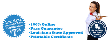 7 95 louisiana bar card rv certification 7 95 state approved louisiana responsible vendor