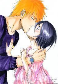 Kisses | Ichigo and rukia, Bleach anime, Bleach ichigo and rukia