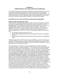 Faa Rest Rules Chart Chapter 3 Comparison Of Faa Icao And Nfpa Standards
