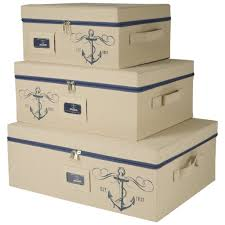 sheffield home storage bins with zipper cover set of 3