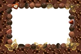 Powerpoint Frame Theme Chocolate Frame Themes Free Ppt Backgrounds For Your