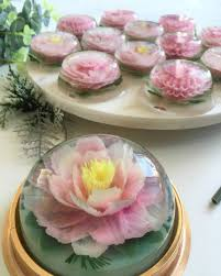 Jelly Birthday Cake Design Blooming 3d Jelly Cakes Are Made With Seaweed Video