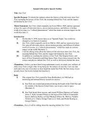Speech Outline 24 Informative Speech Outline Templates PDF Free Premium Templates 6