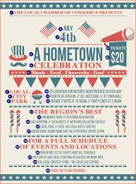8 4th Of July Flyer Bookletemplate Org
