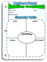 reading response forms and graphic organizers scholastic inferring