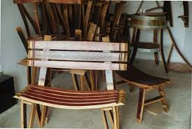 wine barrell furniture. jackstable jacksbench wine barrell furniture a