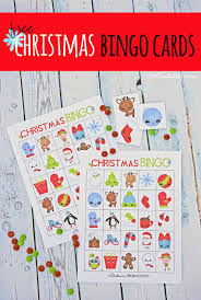 Easy for you because all you have to do is print and sit back. The Cutest Free Christmas Bingo Boards Onecreativemommy Com