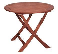 Echtholz Balkontisch Holz Esstisch Rund Garten Tisch Holz 90 Cm