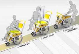 Silla de ruedas diseñada para viajar en avión