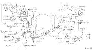 engine transmission mounting for 2002 nissan sentra 2002 nissan sentra engine transmission mounting diagram f 001