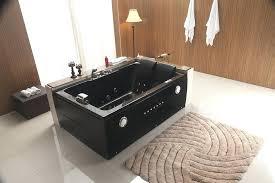 2 person jetted bathtub whirlpool massage hydrotherapy corner jacuzzi bath