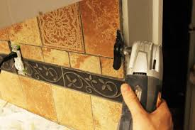 How To Remove Kitchen Tiles How To Remove A Kitchen Tile Backsplash