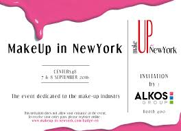 from paris to new york alkos group takes over the big apple this 7th and 8th september 2016 for the makeup in new york fair let s meet booth 400