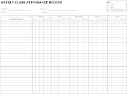 Attendance Forms In Ms Word Student Form Sheet Format Excel Freehow