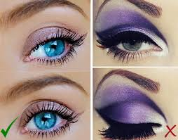 rest your brush on the top of your eyelid and don t take it any higher