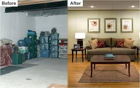 basement remodels before and after. Unique And Finished  Inside Basement Remodels Before And After