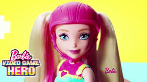 barbie video game hero light up skates doll and match game princess barbie you