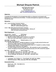 resume template standard - Gbabogados.co