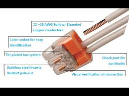 ideal in sure push in wire connectors
