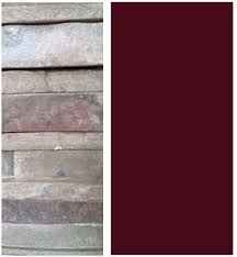 burgundy paint colorsHow To Choose Wall Color When you Have Pink in Your Fireplace